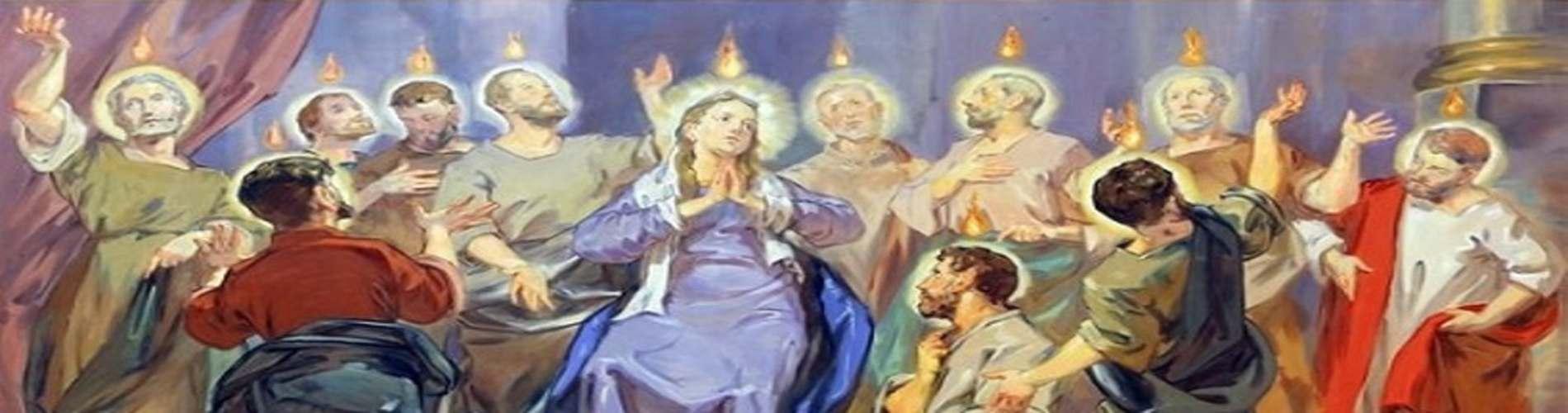 """Zesłanie Ducha Świętego - """"Uzbrojeni Mocą z Wysoka"""""""